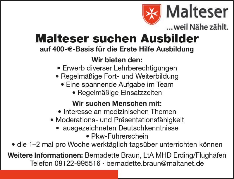 malteser in bayern und th ringen newsdetails. Black Bedroom Furniture Sets. Home Design Ideas